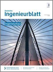 Cover des Deutschen Ingenieurblatts 07/08 2014